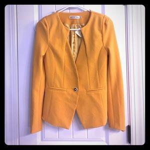 Mustard Tailored Jacket